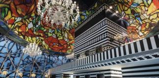 Niezwykłe wnętrze hotelu w Katarze