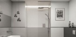 Nie tylko minimalizm - pomysły na zastosowanie w domu szarych płytek