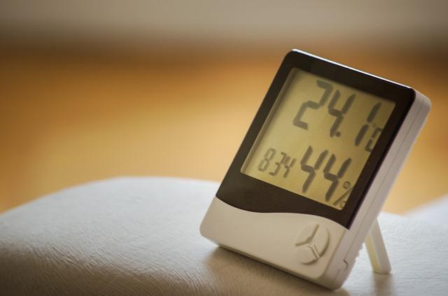 Czujniki temperatury w domu