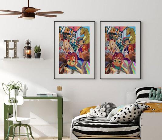 Plakaty na ścianę do sypialni